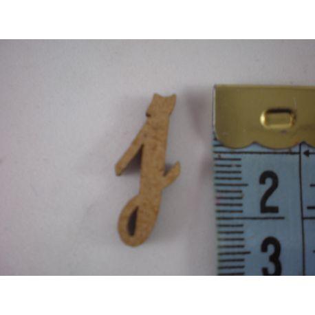 """Letra adhesiva de DM minúscula """"j"""" 14m   Letra adhesiva de DM minúscula """"j"""" 14m"""