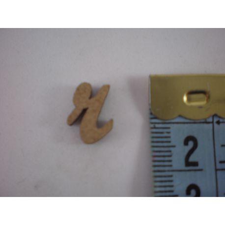 """Letra adhesiva de DM minúscula """"r"""" 14mm"""
