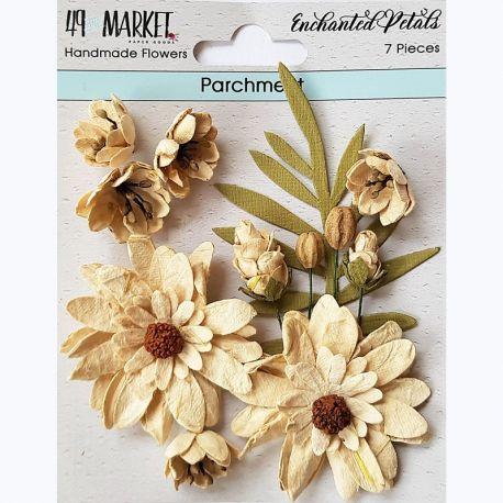 49&Market - Enchanted Petals Parchment - Flowers