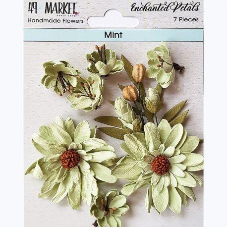 49&Market - Enchanted Petals Mint - Flowers