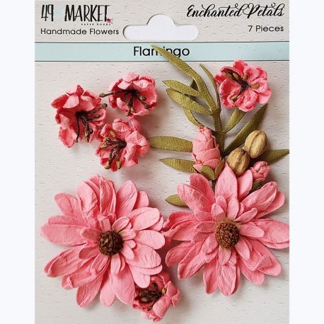 49&Market - Enchanted Petals Flamingo - Flowers