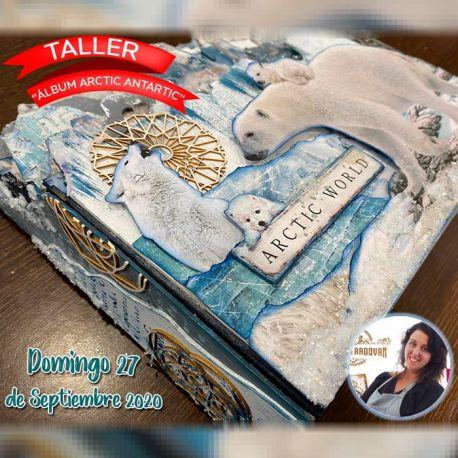 "Taller de scrap ""Álbum Arctic Antartic"" con Cristina Radovan"