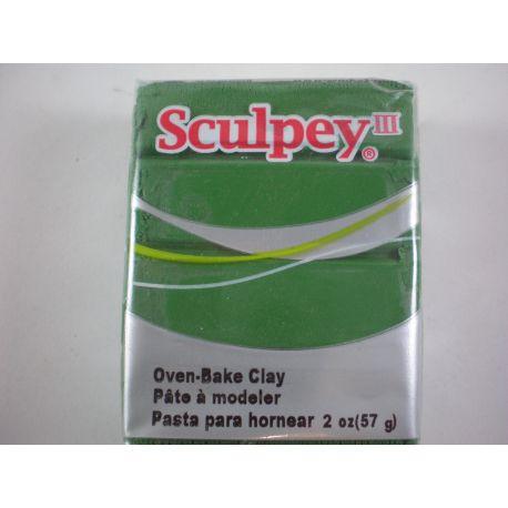 Arcilla Polimérica Sculpey III Leaf Green 56gr
