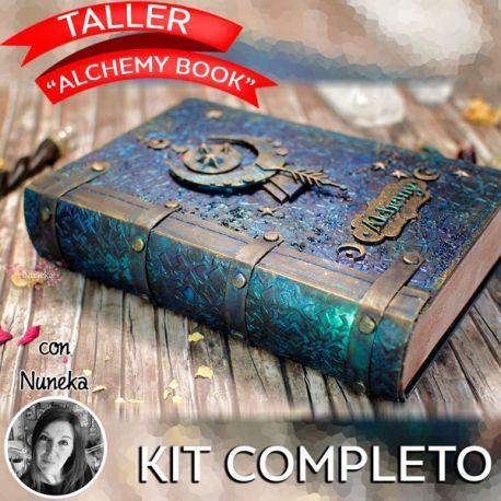 "Kit COMPLETO Taller ""ALCHEMY BOOK"" con Nuneka"