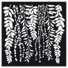 "Stencil Stamperia 30x30cm ""Leaves"""