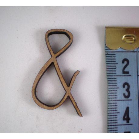 Signo para decorar de DM Miss Craft  de 3cm.  &