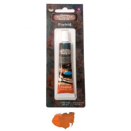 Finnabair Metallique Wax - Firebird