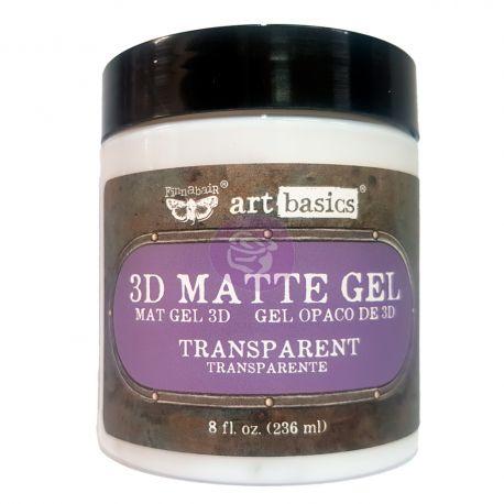 Art Basics - 3D Matte Gel (8 fl. oz.)
