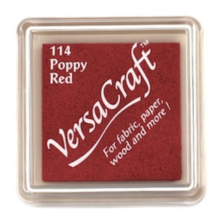 Tinta para tela Versacraft Poppy Red