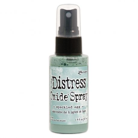 Speckled egg - Distress oxide spray