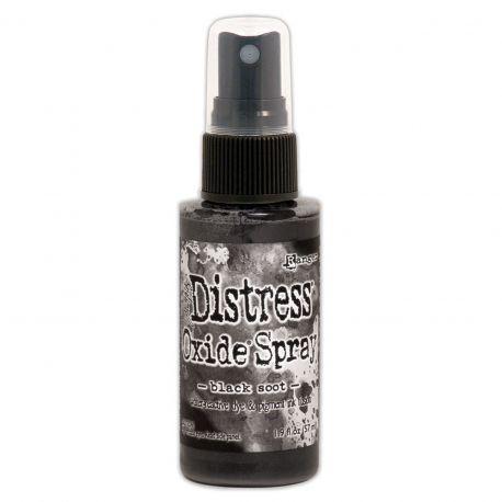 Black Soot - Distress oxide spray