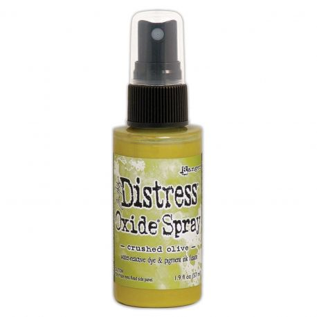 Crushed Olive - Distress oxide spray