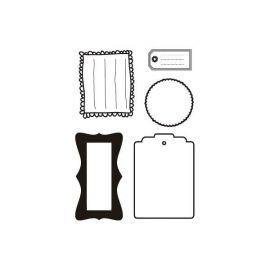 Sellos de silicona motivos Etiquetas (1)