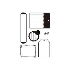 Sellos de silicona motivos Etiquetas (2)