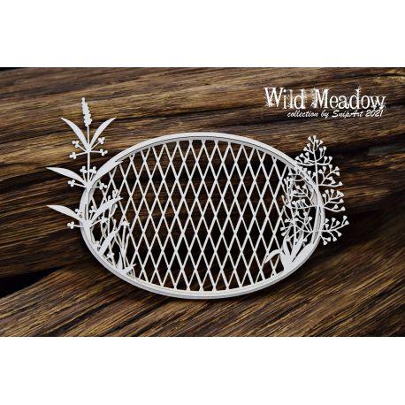 Wild Meadow – Oval Frame 7,5 x 11,6 cm