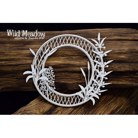 Wild Meadow – Round Frame 125mm
