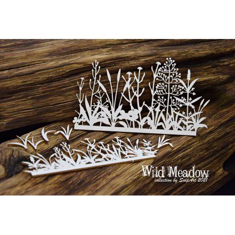 Wild Meadow – Border 6 - 11x12cm