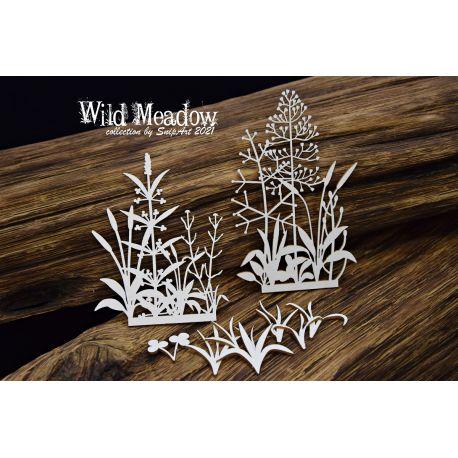 Wild Meadow – Border 5 - 11x14cm
