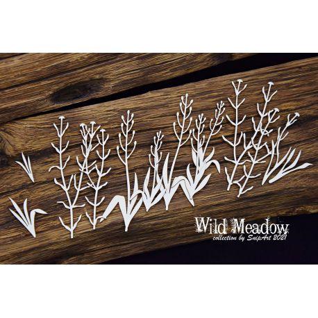 Wild Meadow – Grass 1 - 14x16cm