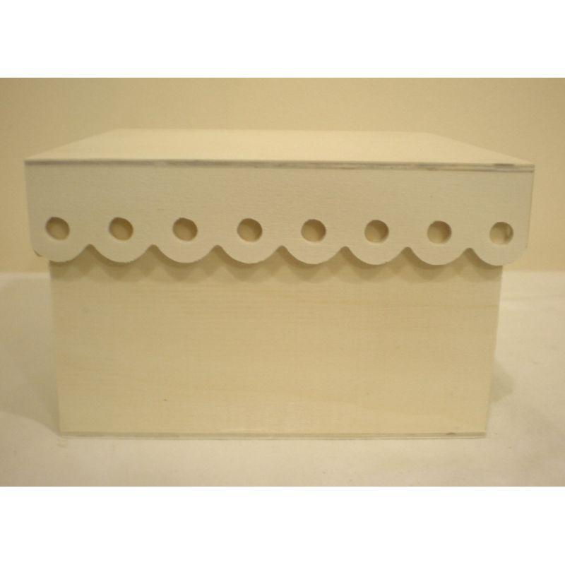 Caja de madera con ondas de la tienda de las - Cajas madera para manualidades ...
