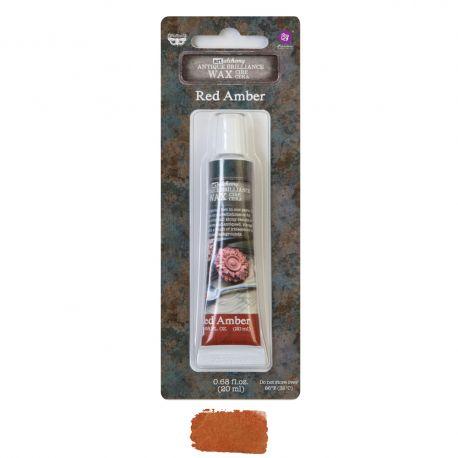 Art Alchemy - Antique Brilliance Wax - Red Amber