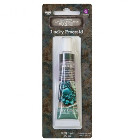Art Alchemy - Antique Brilliance Wax - Lucky Emerald