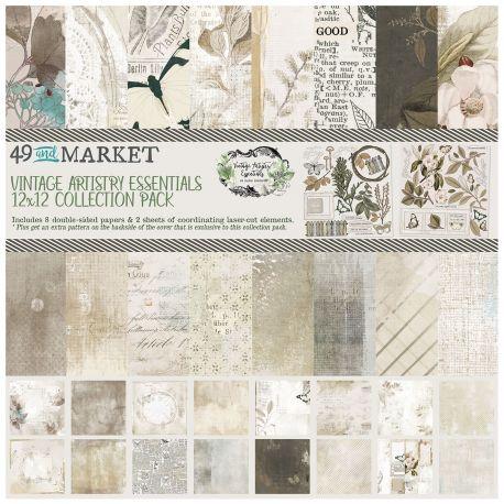 49&Market VINTAGE ARTISTRY ESSENTIALS Colección 30x30cm