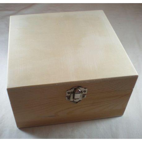 Caja infusiones para decorar 16x16cm de 4 departamentos