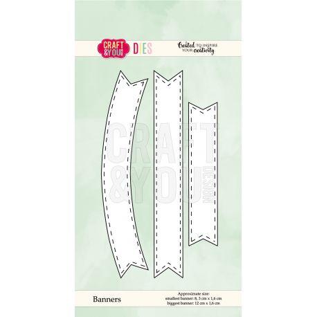 Troquel 3 Piezas - Banner - Craft & You Design