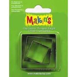 Makin's set de 3 cortadores Cuadrados