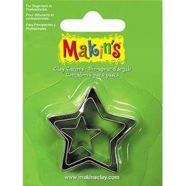 Makin's set de 3 cortadores Estrellas