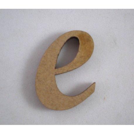 "Letra adhesiva clasica de DM minúscula ""e"""