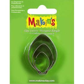 Makin's set de 3 cortadores Hojas