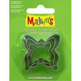 Makin's set de 3 cortadores Mariposa