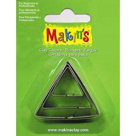 Makin's set de 3 cortadores Triangulo