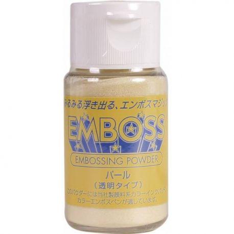 Polvos para embossing Transparentes EMBOSS Tsukineko 28gr Pearl