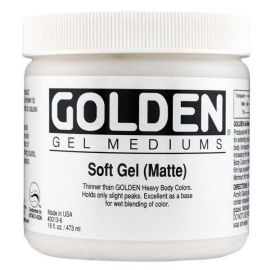 Gel medium Golden - Soft Gel Matte