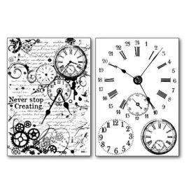 Transfer 21x29.7cm Relojes 80gr
