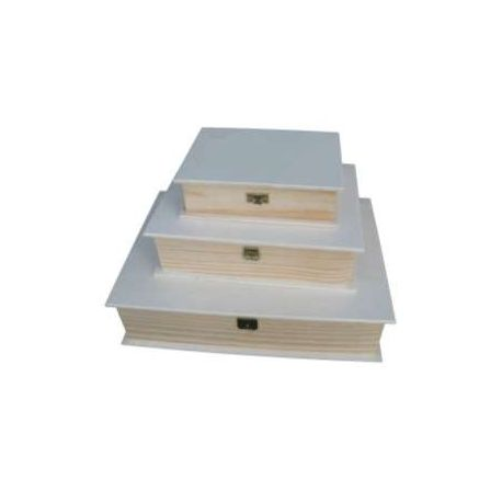 Caja libro medida A4
