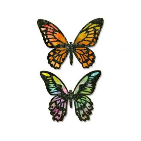Troquel Sizzix THINLITS Detailed Butterflies by Tim Holtz