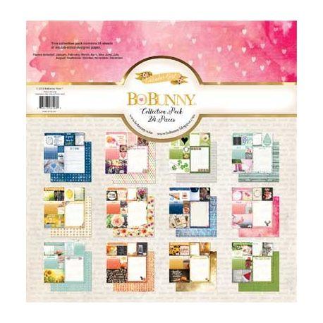 Bloc papel Scrap BoBunny Calendar
