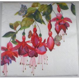 Servilleta pasion por las flores