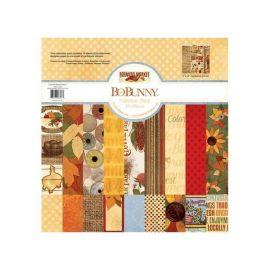 BoBunny Bloc papel Scrap 30,5x30,5cm Farmers market