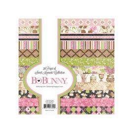 BoBunny Bloc papel Scrap 15x15cm Sweet Moments
