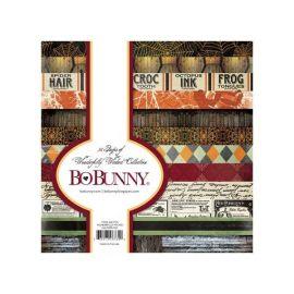 BoBunny Bloc papel Scrap 15x15cm Wonderfully Wicked