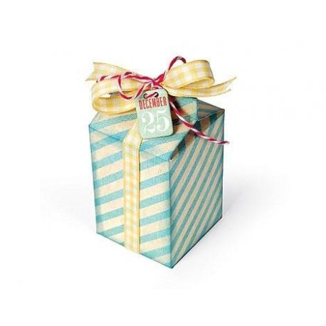 Sizzix Troquel THINLITS Box, milk carton by E.L Smith