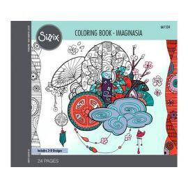 Set 24 papeles para colorear Imaginasia by Katelyn Lizardi