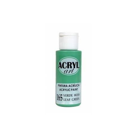 Pintura acrílica Acryl Art 165 Verde Hoja 60ml