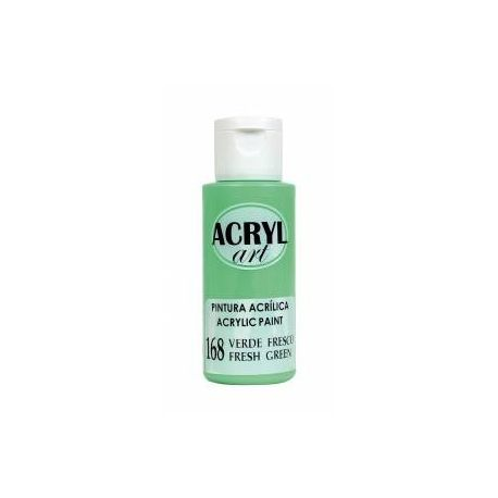 Pintura acrílica Acryl Art 168 Verde Fresco 60ml