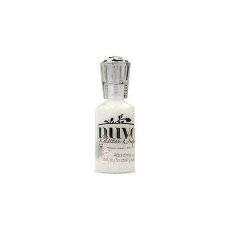 Nuvo Glitter Drops White 30ml